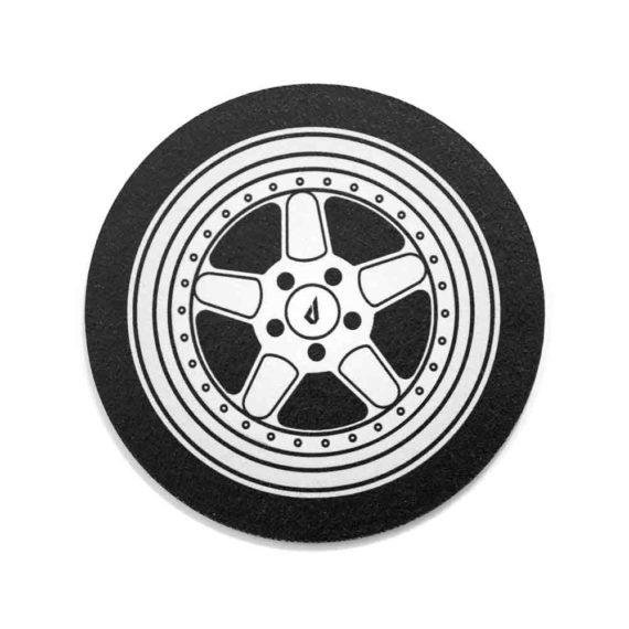 BMW coasters wheels drink coasters