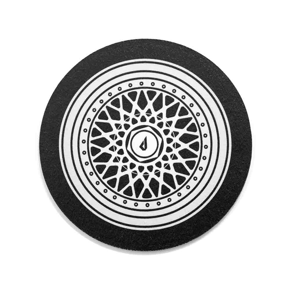 BMW coasters wheels drink coasters
