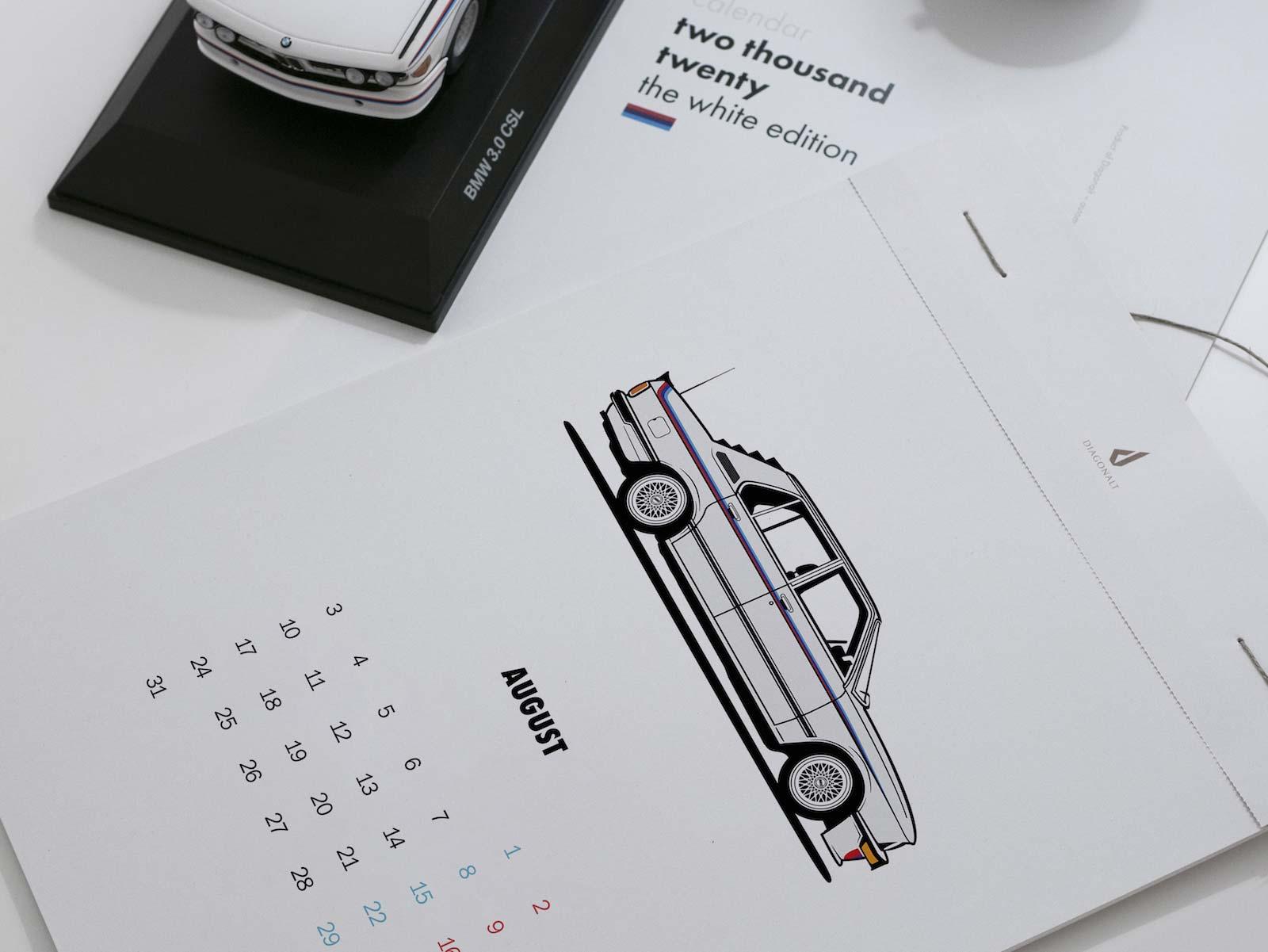 BMW Calendar 2020